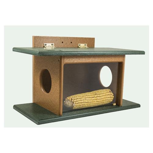 Squirrel House Feeder