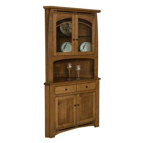 Boulder Creek Corner Hutch