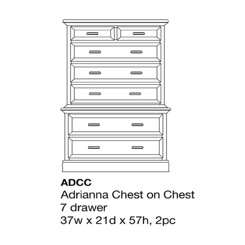 Adrianna Chest on Chest