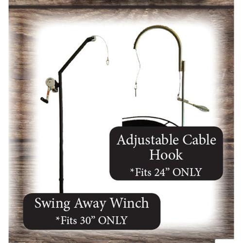 Fire Pit Adjustable Hook