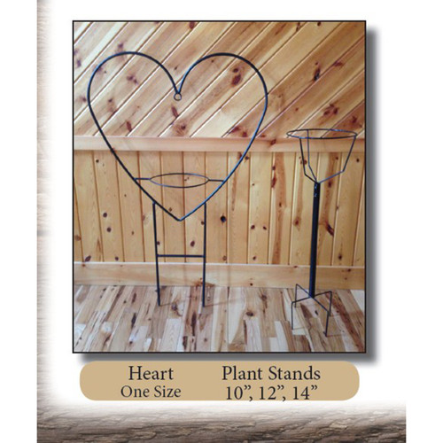Heart Plant Stand