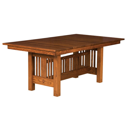 Kingsbury Mission Trestle Table