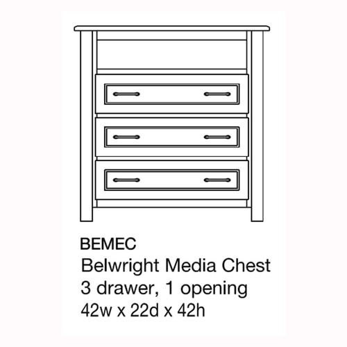 Belwright Media Chest