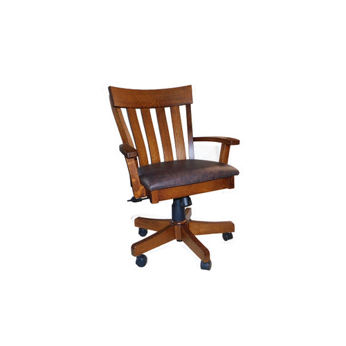 Signature Mission Poker Chair