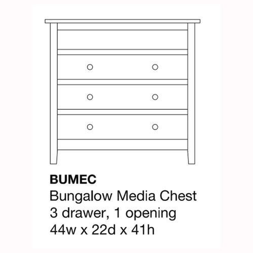 Bungalow Media Chest