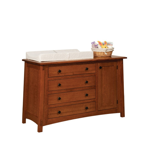 McCoy 4-Drawer Dresser (with Door)