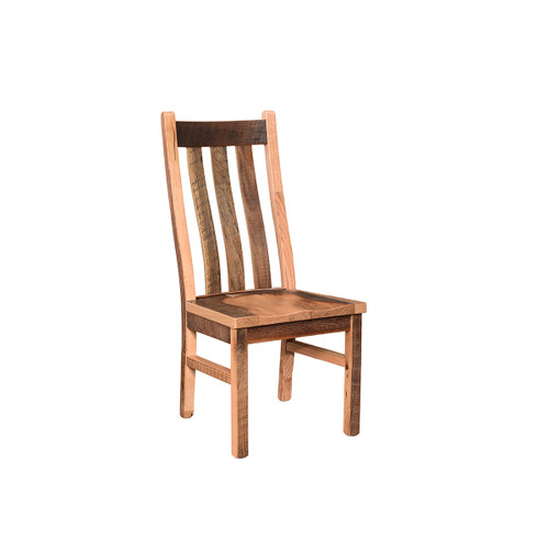 Branson Swivel Bar Chair (Barn Wood)