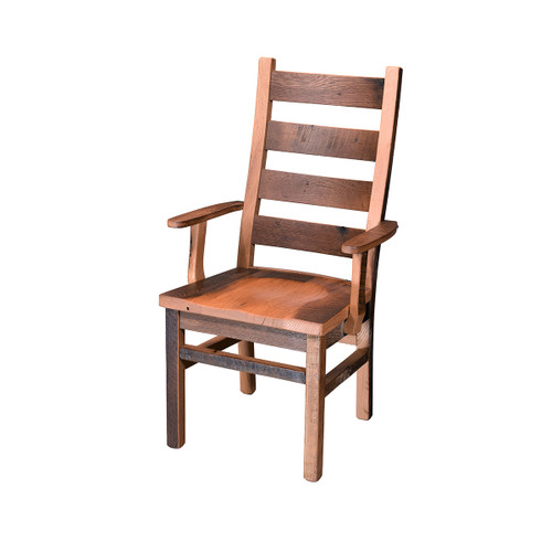 Ladderback Rocker (Barn Wood)