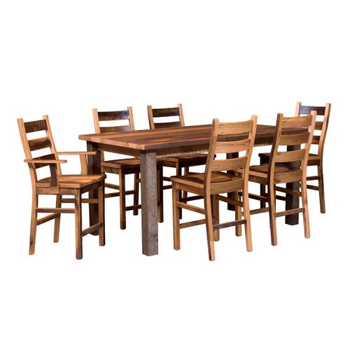 Almanzo Pub Table (Barn Wood / Square Leg)