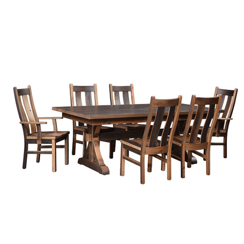 Bristol Table (Barn Wood / Extendable)