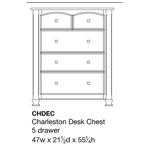 Charleston Desk Chest