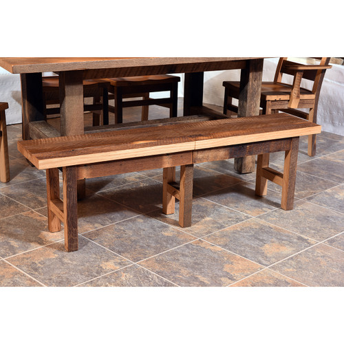 Dining Extend-A-Bench (Barn Wood)