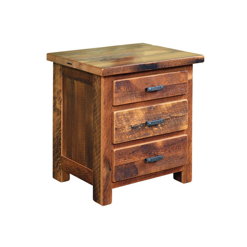 Farmhouse Nightstand (Barn Wood)