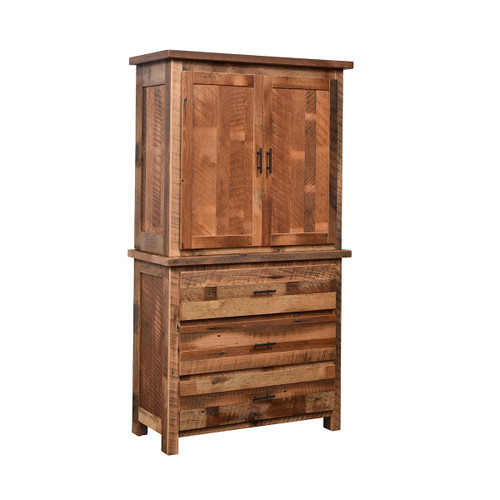 Savannah Armoire (Barn Wood)