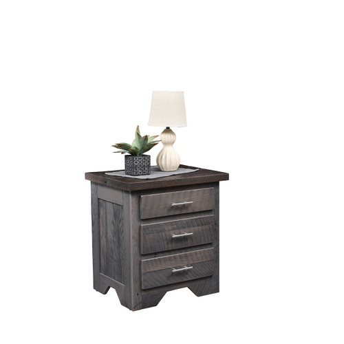 London Fog Nightstand (Barn Wood)