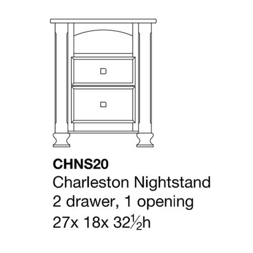 Charleston Nightstand