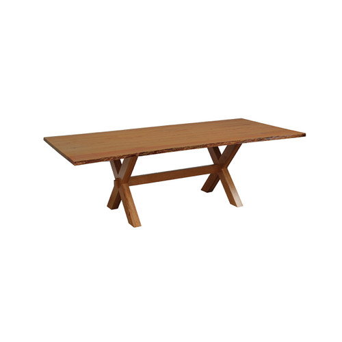 Frontier Trestle Table (Bookmatch Live Edge)