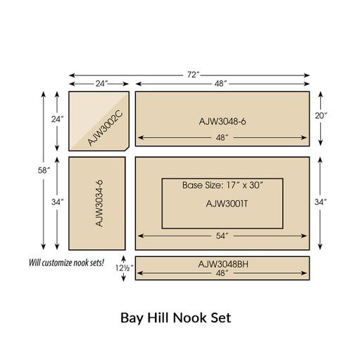 Bay Hill Nook Set
