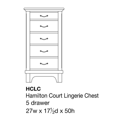 Hamilton Court Lingerie Chest