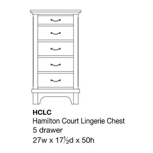 Hamilton Court Lingerie Chest
