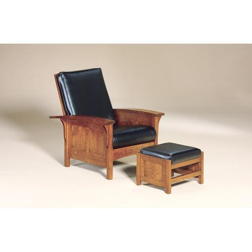 Bow Arm Panel Morris Chair