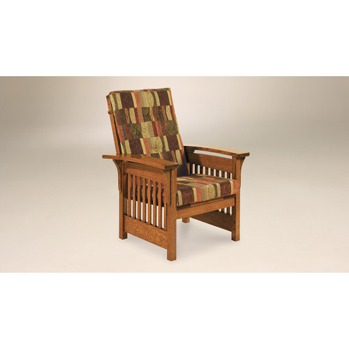 Bow Arm Slat Chair