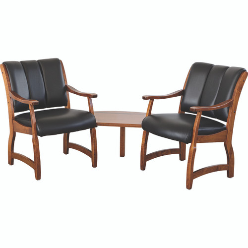 Midland Chairs (2-Seat with Corner Table)