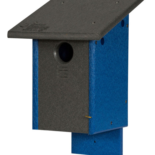 Bluebird House (Post or Wall Mount)