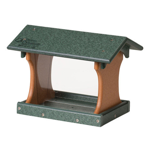 Small Bird Feeder (Hanging or Post Mount)