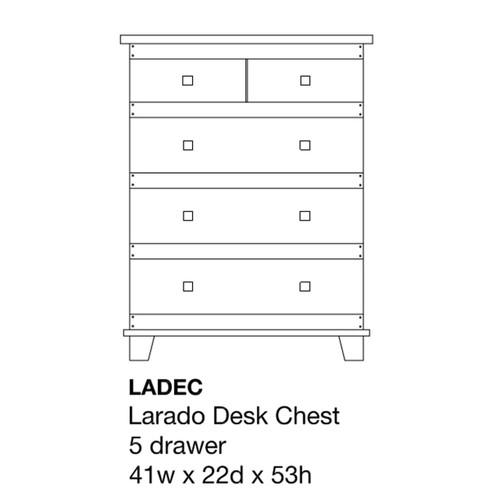 Larado Desk Chest