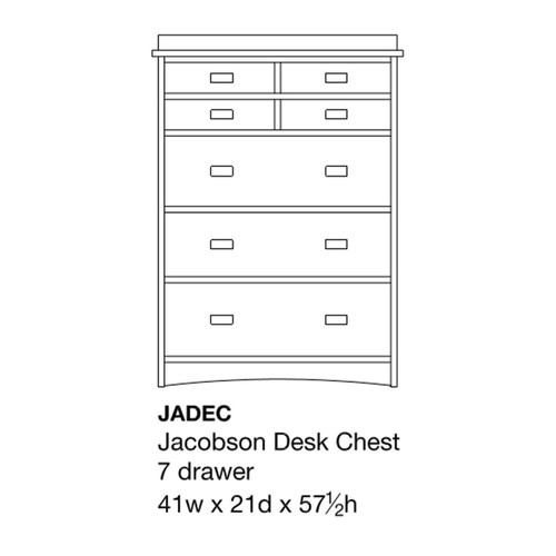 Jacobson Desk Chest