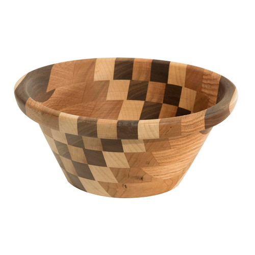 King's Dish Wooden Bowl (Mixed Wood)