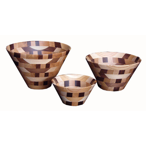 Wooden Bowl (Mixed Wood)
