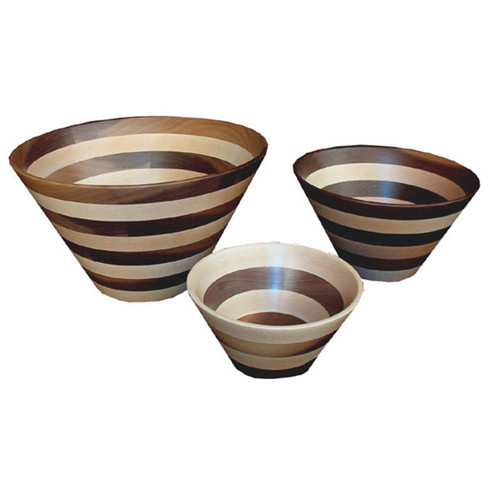 Wooden Bowl (Striped Wood)
