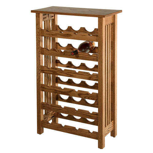 Mission Wine Rack (24-Bottle)