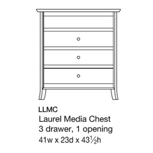 Laurel Media Chest