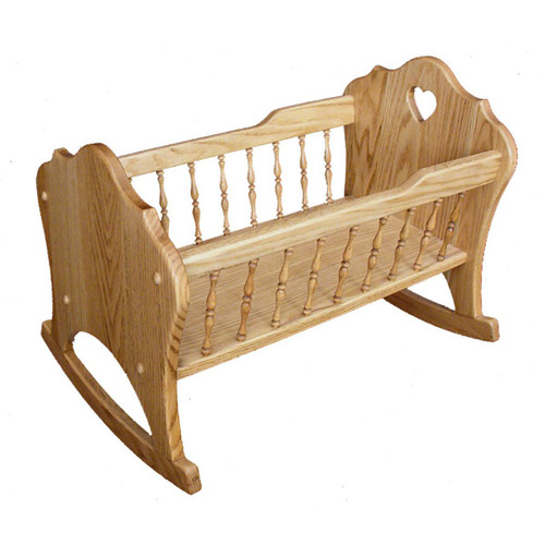 Doll Cradle (Tall Spindles)