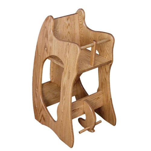Three-In-One (High Chair, Rocker, Desk)