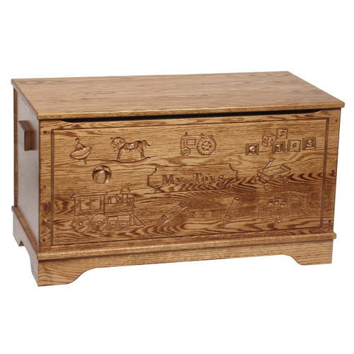 Toy Chest (Carved)