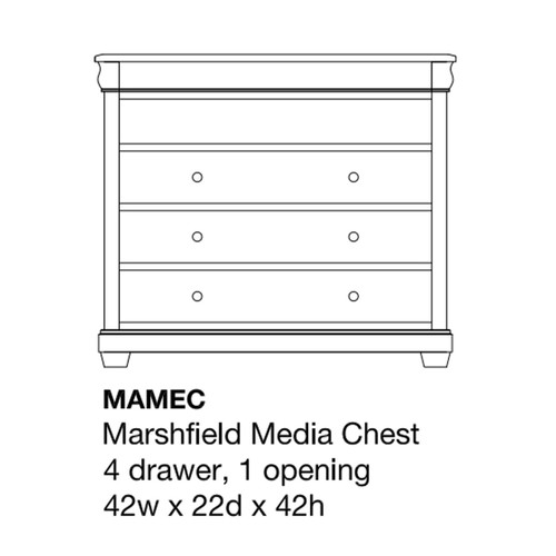 Marshfield Media Chest