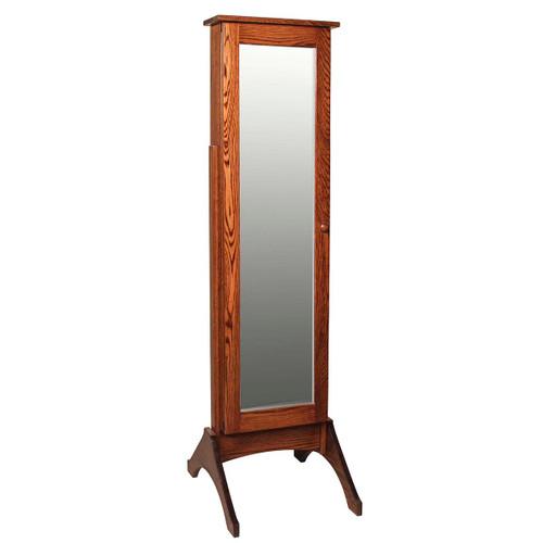 Jewelry Mirror (with Sliding Door)