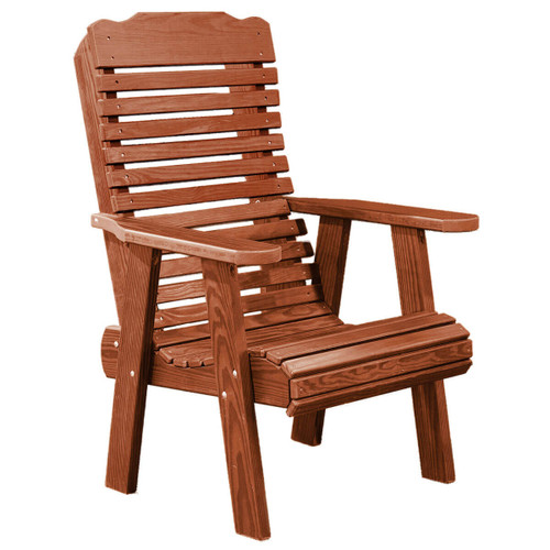 Cedar Contoured Arm Chair