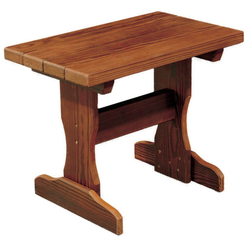 Small Cedar End Table