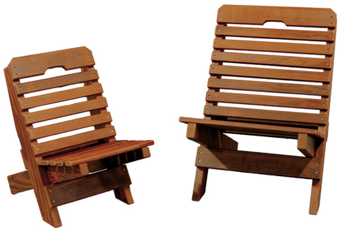 Cedar Kids Fisherman Chair