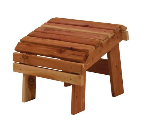 Cedar Footstool