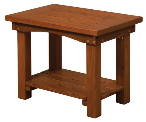 Cedar Side Table