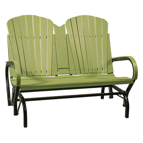 Outdoor Fan Back Loveseat Porch Swing