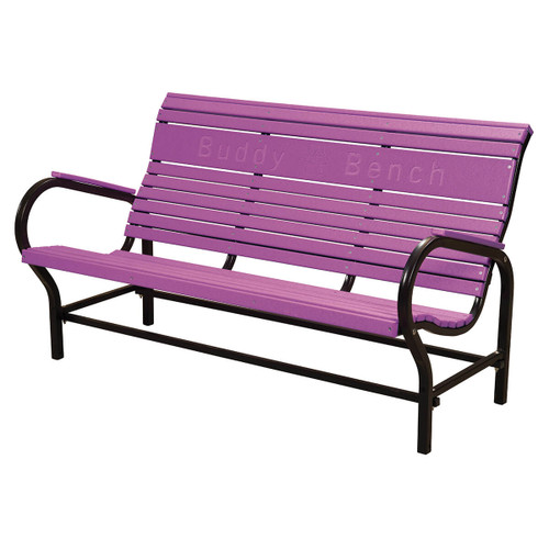 Outdoor Roll Back Loveseat Bench