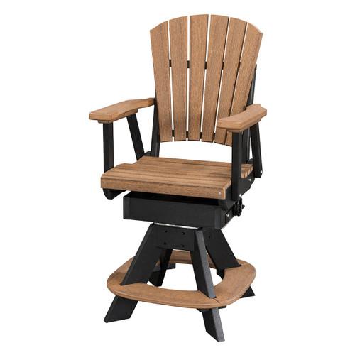 Micah Polywood Swivel Rocker Chair