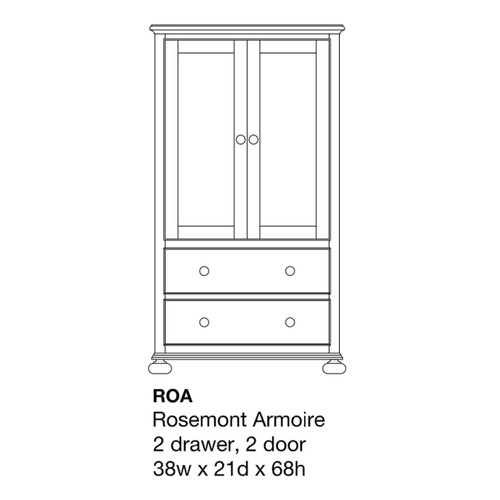 Rosemont Armoire